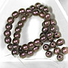 4mm Czech Druk Beads for Bracelets with C-Lon Tex 400 Cord