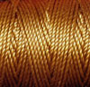 Gold C-Lon Tex 400 Bead Cord