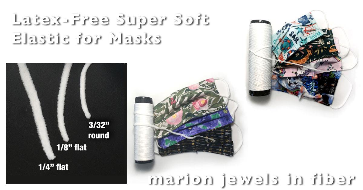 Wholesale latex free nylon polyester elastic